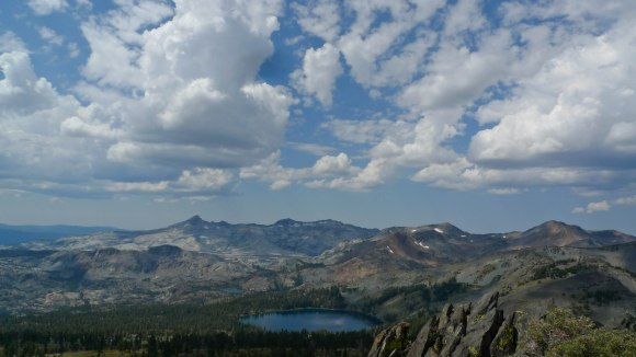 The view from Mt. Tallac