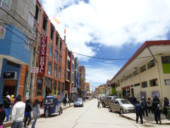Downtown Puno