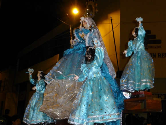 Early parade for the Epiphany festival (fitting for my name)