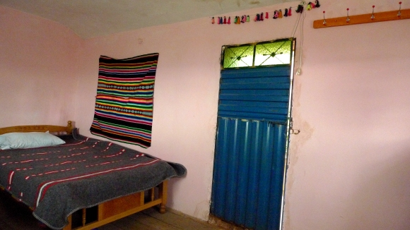 My room at Ernesto and Juana's home