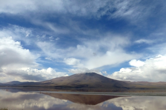 Another view of La Laguna Colorada