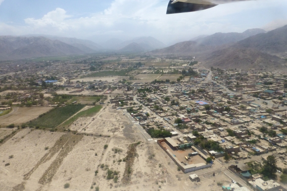 View of Nazca from the plane