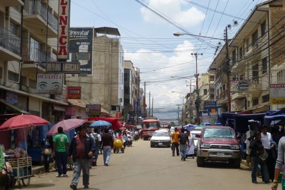 Downtown Cochabamba
