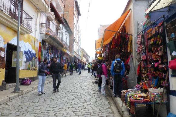 Shopping all day in Las Brujas, La Paz