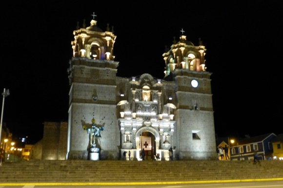 Catedral at the main plaza