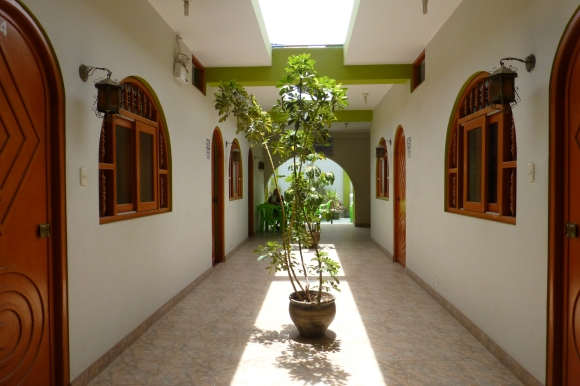 Hallway at the Nazca Inn