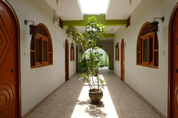 Hallway at the Nazca Inn