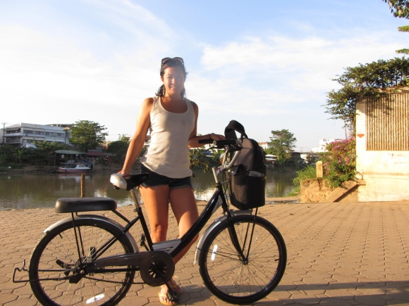 Biking around Chiang Mai